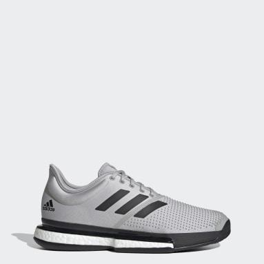 Men Tennis Grey SoleCourt Parley Shoes