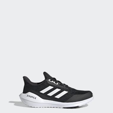 Children Running Black EQ21 Run Shoes