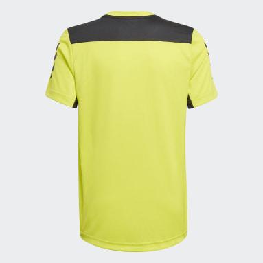 T-shirt XFG AEROREADY Primeblue Giallo Ragazzo Fitness & Training