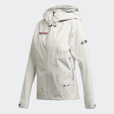 Dam TERREX Vit DSV Parley Three-Layer Jacket