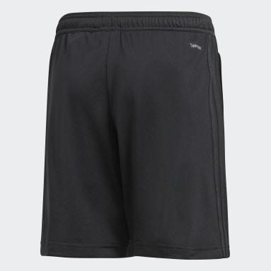 Shorts CON18 TR (UNISEX) Negro Niño Fútbol