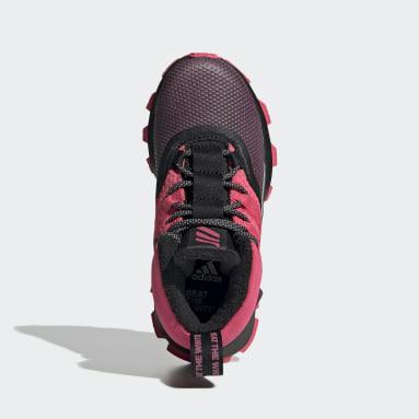 Kids Running Black RapidaRun ATR Shoes