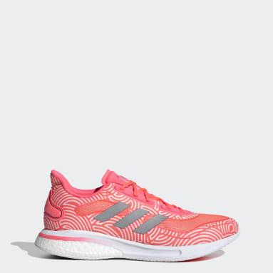 Men Running Pink Supernova Tokyo Shoes
