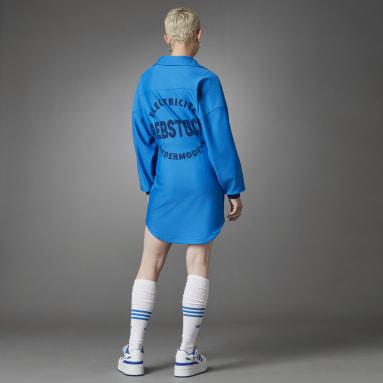 Robe Blue Version Bleu Femmes Originals