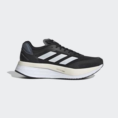 Running Black Adizero Boston 10 Wide Shoes