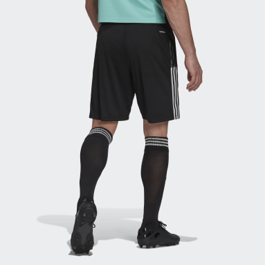 Men Football Black Arsenal Tiro Training Shorts