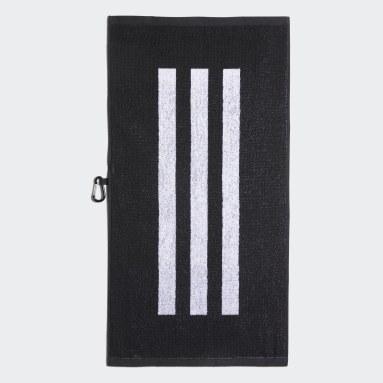 Golf Black Golf Towel