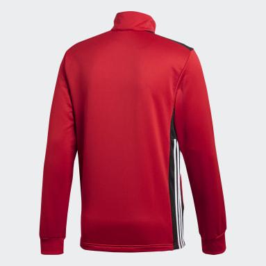 Men Gym & Training Red Regista 18 Track Top