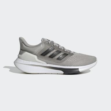 Men Running Grey EQ21 Run Shoes