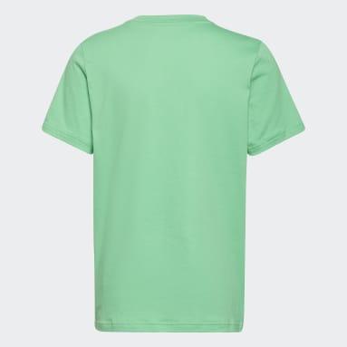 Boys Lifestyle Green adidas x Disney Huey Dewey Louie Tee