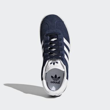 Boys Originals Blue Gazelle Shoes