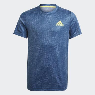 Camiseta HEAT.RDY Primeblue Tennis Freelift Azul Niño Tenis