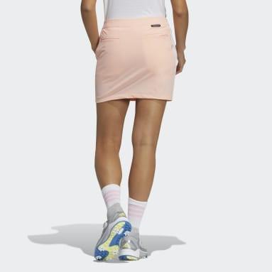 Women Golf Pink Primeblue 3-Stripes Skort