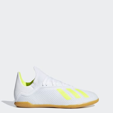 calzado de fútbol X Tango 18.3 Bajo Techo (UNISEX) Blanco Niño Fútbol