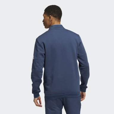 Men's Golf Blue Recycled Content COLD.RDY Quarter-Zip Pullover