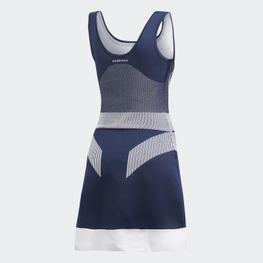 Women's adidas by Stella McCartney Blue adidas by Stella McCartney Court Clubhouse Dress