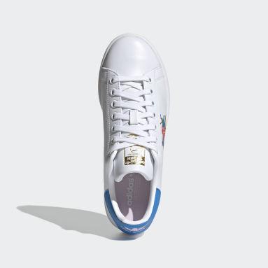 Women Originals White Egle Stan Smith Shoes