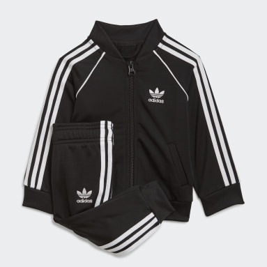 Conjunto chaqueta y pantalón Adicolor SST Negro Niño Originals