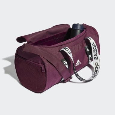 Gym & Training Burgundy 4ATHLTS Duffel Bag Small
