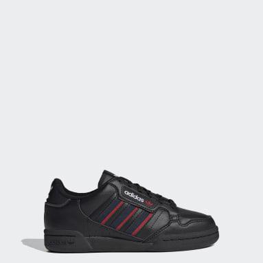 Barn Originals Svart Continental 80 Stripes Shoes