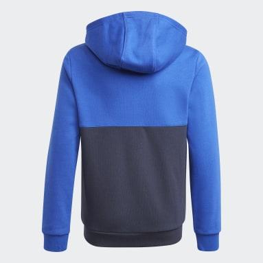 Sweat-shirt à capuche adidas SPRT Collection Bleu Enfants Originals