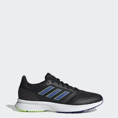 Men Running Black Nova Flow Shoes