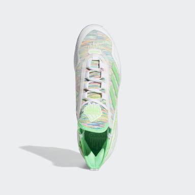 Men's Baseball White Icon 7 Boost Dripped Out Cleats