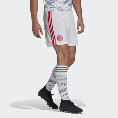 Voetbal Wit FC Bayern München 21/22 Derde Short