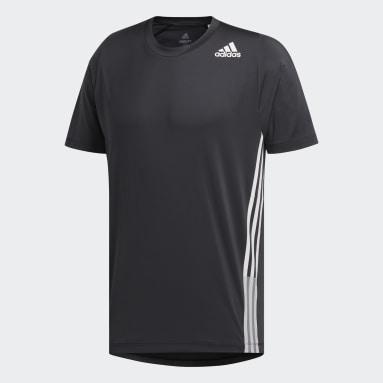 Heren HIIT Zwart FreeLift 3-Stripes T-shirt