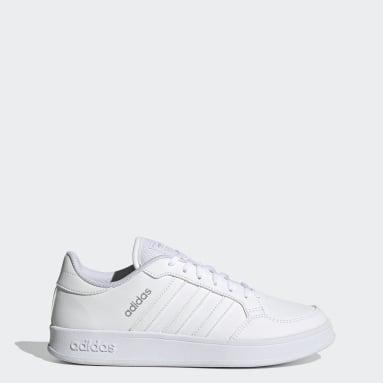 Women Sport Inspired White Breaknet Shoes