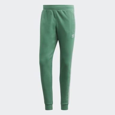 Pants deportivos 3 Franjas Verde Hombre Originals