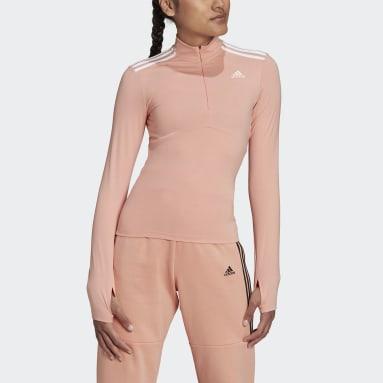 Dam Sportswear Rosa Hyperglam Quarter-Zip Tee
