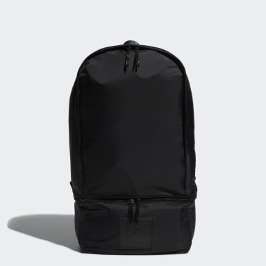 Men Golf Black Recycled Content Transformation Backpack