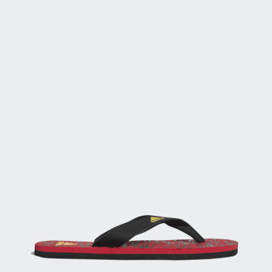 Men Swim Red Eezay Max Out 2021 Slippers