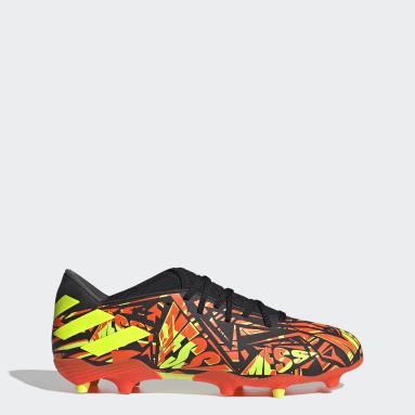 Men Football Orange Nemeziz Messi.3 Firm Ground Boots
