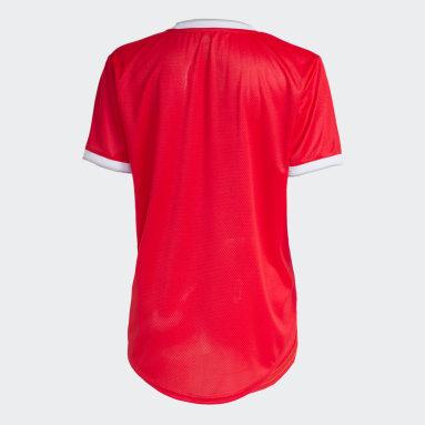 Camisa Internacional Vermelho Mulher Futebol
