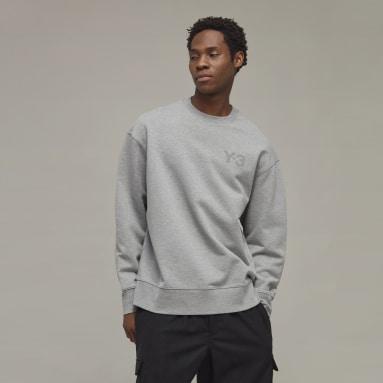 Männer Y-3 Y-3 Classic Chest Logo Sweatshirt Grau