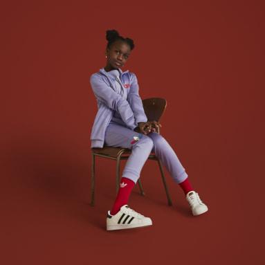 Track jacket adicolor Viola Bambini Originals
