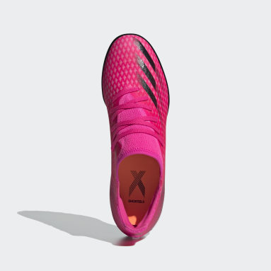 Voetbal Roze X Ghosted.3 Turf Voetbalschoenen