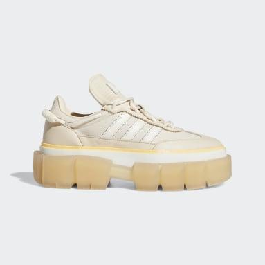Women Originals Beige Super-Sleek Shoes