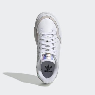 Chaussure Supercourt Blanc Enfants Originals