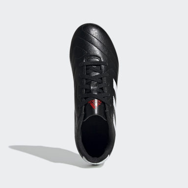 Boys Football Black Goletto VII Firm Ground Boots