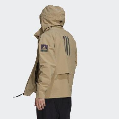 Men City Outdoor Beige MYSHELTER Rain Jacket