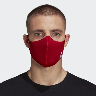 Sportswear Rød Badge of Sport ansigtsklæde – ikke til medicinsk brug