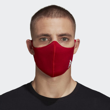 Face Cover Badge of Sport - Ikke for medisinsk bruk Rød