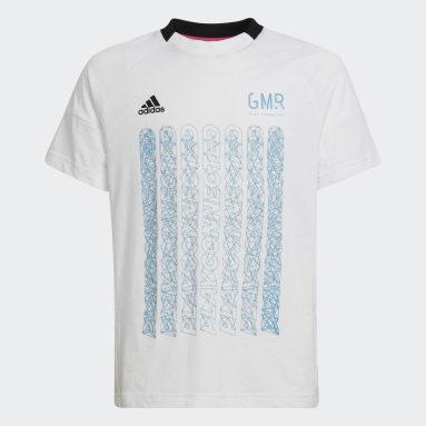 белый Футболка для фитнеса Gaming