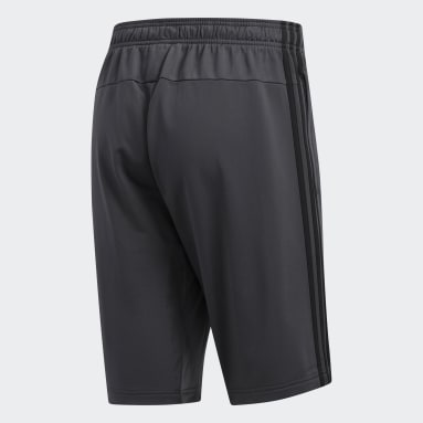 Shorts Essentials 3-Stripes Cinza Homem Essentials
