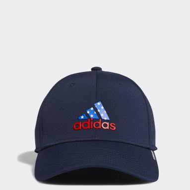 Men's Baseball Blue Americana Game Day Stretch Fit Hat