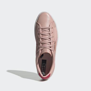 Tenis adidas Sleek Rosa Mujer Originals