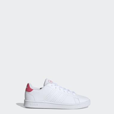 Kids Essentials White Advantage Shoes